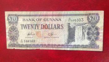GUYANA 1000 DOLLARS 2008 UNC
