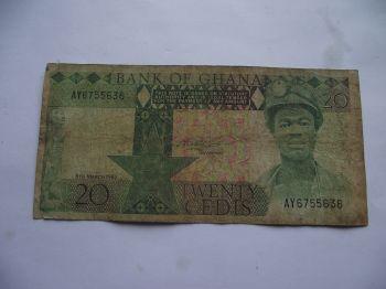 GHANA 1 CEDI 2010 P-NEW UNC