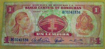 HONDURAS 100 LEMPIRAS 2004 P-77 UNC
