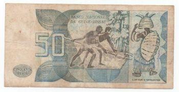 GUINEA BISSAU SET 4 UNC 50-100-500-1000 Pesos P 10 11 12 13