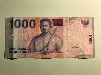 INDONESIA 10 RUPIAH 1959 P 66 UNC