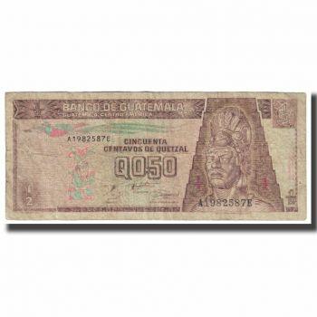 GUATEMALA 5 QUETZALES 2003 P 106 UNC