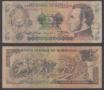 HONDURAS 10 LEMPIRAS 2004 P 86 UNC