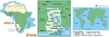 GHANA 5 CEDIS 2.1.1980 P 19 UNC