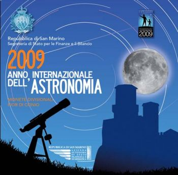 San Marino 2009 International Year of Astronomy