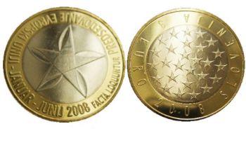 Slovenia - 3 Euro, EU Presidency, 2008