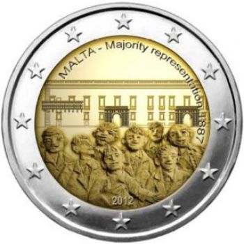 Malta 2012, 2 euro commemorative, UNC!!