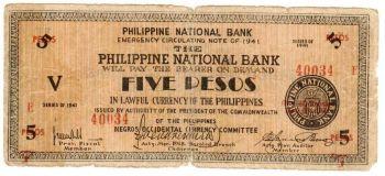 PHILIPPINES 20 PESOS P-155 UNC