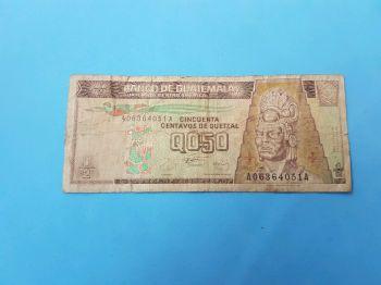 GUATEMALA 5 QUETZALES 2011 POLYMER UNC
