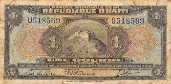 HAITI 20 Gourdes 2001 UNC (GOLD)