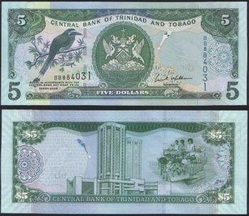 TRINIDAD & TOBAGO 50 DOLLARS 2014 POLYMER UNC