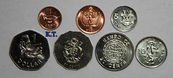 Νησιά Σολομώντα σετ 7 ΑUNC νομίσματα