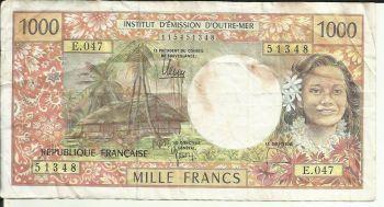 FRENCH POLYNESIA 500 FRANCS 2014 UNC