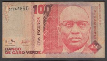 CAPE VERDE 1000 ESCUDOS 2014 UNC