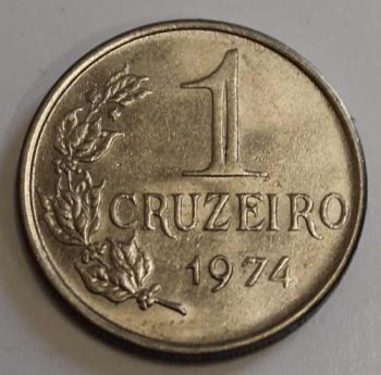 BRAZIL 1 CRUZEIRO 1974