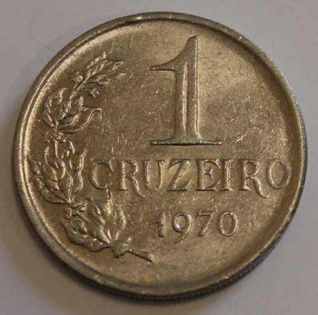 BRAZIL 1 CRUZEIRO 1970