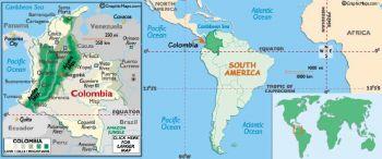 COLOMBIA 1 PESO 1971 P-04 UNC