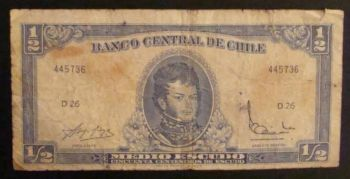 CHILE 1000 PESOS 2010-2011 POLYMER UNC