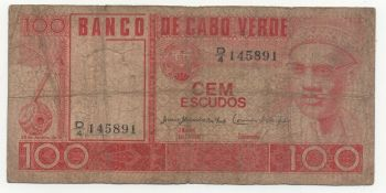 CAPE VERDE 100 ESCUDOS 1989 PICK-57 UNC
