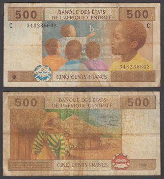 CHAD 1.000 FRANCS 1980 UNC
