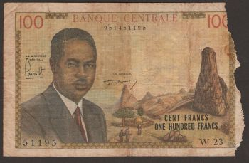 CAMEROUN (CENTRAL AFRICAN STATE) 1000 FR. 2002 P-207U UNC