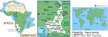 CAMEROUN (CENTRAL AFRICAN STATES)  1000 FRANCS 2002 P-202E,UNC
