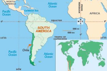 CHILE 5.000 ESCUDOS  1967-76  P-147b UNC