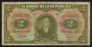 COLOMBIA 5000 PESOS 2007  UNC