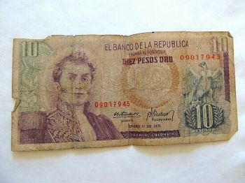 COLOMBIA 20.000 PESOS ND (2006) UNC