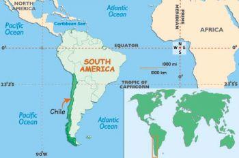 CHILE 10 CENTESSIMOS ON 100 PESOS 1961 P 127 UNC