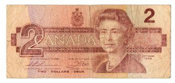 CANADA 2 DOLLARS (OTTAWA 1986) BC-55b UNC