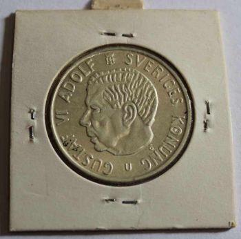 SWEDEN 2 κορώνες 1964 ασημένιο, εξαιρετικότατο