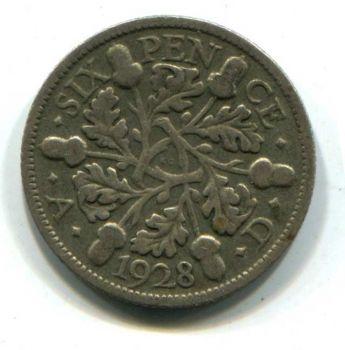 ENGLAND 3 PENCE 1912 ασημένιο