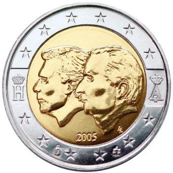 BELGIUM 2 EURO COMMEMORATIVE COIN 2005 - UNC