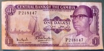 GAMBIA 50 DALASIS 2015 COLORFUL UNC