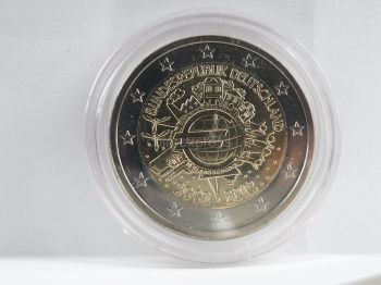 GERMANY BAVARIA COMMEMORATIVE 2012 F STUTTGART ROLL 25 UNC COINS
