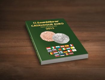 2015 - Leuchtturm Catalogue EURO for Coins and Banknotes 2015 - ENGLISH