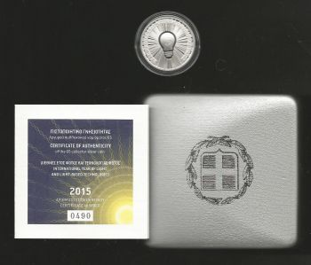 Greece: 6 EURO silver proof coin 2015