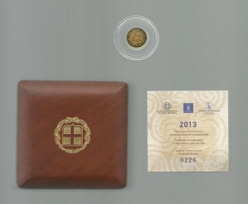 Greece: 50 EURO mini gold