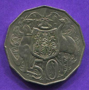 AUSTRALIA 50 CENTS 1979 AU-UNC