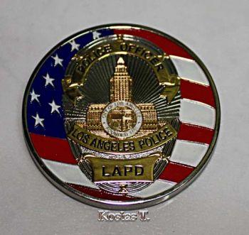LAPD σπάνιο Αναμνηστικό Αστυνομικό