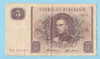 Sweden 20 Kronor 2015 UNC