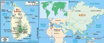 SRI LANKA 10 RUPEES 2005 UNC