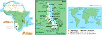 MALAWI 20 KWACHA 2012 P-NEW UNC