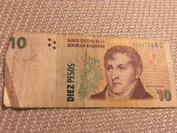 ARGENTINA 50 PESOS 1985 P 314 UNC