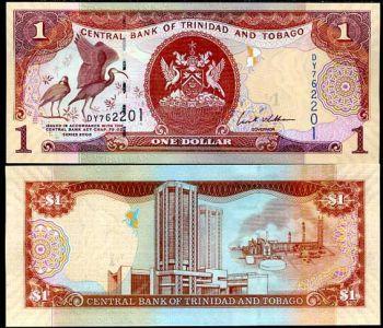 TRINIDAD & TOBAGO 1 DOLLAR 2006   UNC