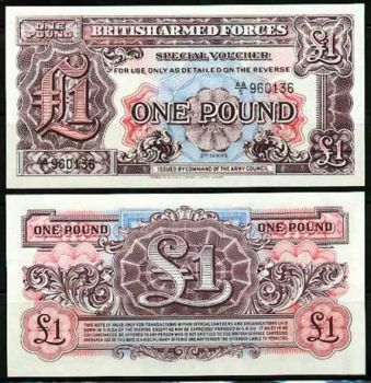 1948 M22 British Armed Forces 1 Pound