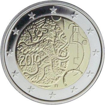 2010 Finland 2 Euro Commemorative Coin UNC