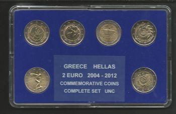 All 2 EURO commemorative coins 2002-20013 UNC!