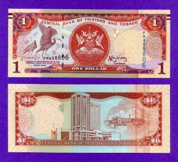TRINIDAD & TOBAGO 1 DOLLARS 2006 (2014) UNC